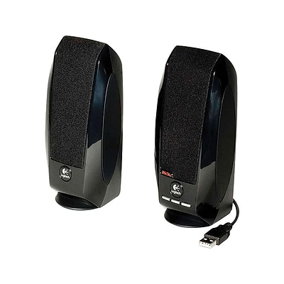 Logitech S150 Wired Speakers, Pack of 2 (980-000028)
