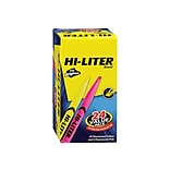 Avery Hi-Liter The Original Pen-Style Stick Highlighters, Chisel, Assorted, 24/Pack (29861)