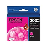 Epson 200XL Magenta Ink Cartridge, High Yield (T200XL320-S)