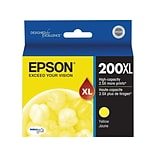 Epson 200XL Yellow Ink Cartridge, High Yield (T200XL420-S)