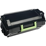 Lexmark 621H Black Toner Cartridge, High Yield (62D1H00)