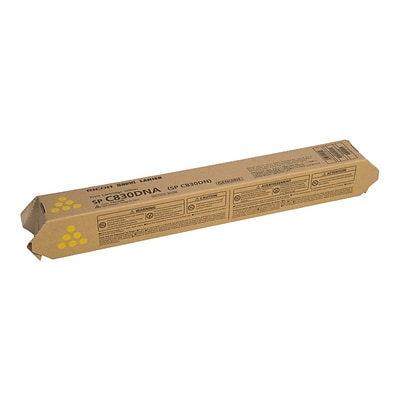 Ricoh 821182 Yellow Toner Cartridge, Standard