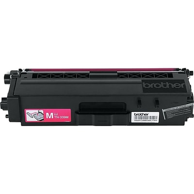 Brother TN 339M Magenta Toner Cartridge, Extra High Yield