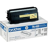 Brother TN 460 Black Toner Cartridge, High Yield