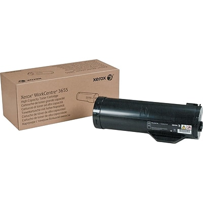 Xerox 106R02738 Black Toner Cartridge, High Yield