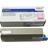 OKI Type C16 Magenta Toner Cartridge, Standard (44318602)
