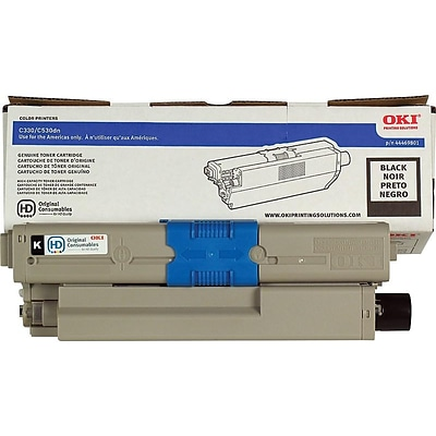 OKI 2722873 Black Standard Yield Toner Cartridge