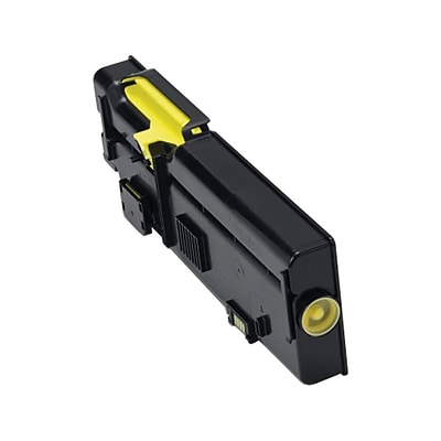 Dell 2K1VC Yellow Toner Cartridge, High Yield