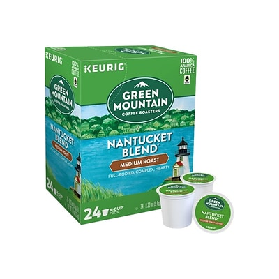 Green Mountain Coffee Roasters Nantucket Blend Coffee, Keurig® K-Cup® Pods, Medium Roast, 24/Box (6663)