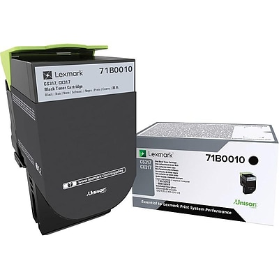 Lexmark 71 Black Standard Yield Toner Cartridge
