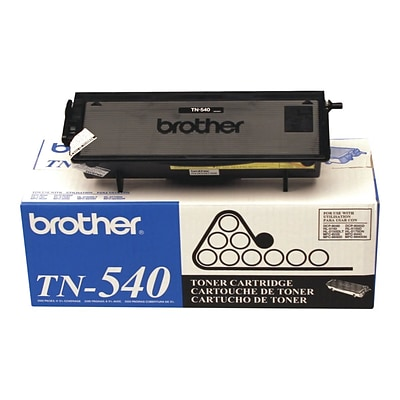 Brother TN 540 Black Toner Cartridge, Standard