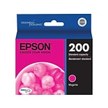 Epson 200 Magenta Ink Cartridge, Standard (T200320-S)