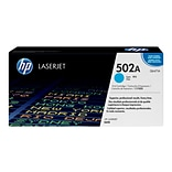 HP 502A Cyan Toner Cartridge, Standard (Q6471A)