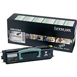 Lexmark 24015SA Black Toner Cartridge, Standard