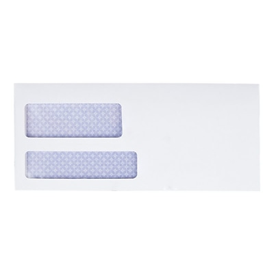 Quality Park Reveal-N-Seal Security Tinted Business Envelopes, 3 7/8 x 8 7/8, White Wove, 500/Box (QUA67529)