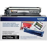 Brother TN 210BK Black Toner Cartridge, Standard