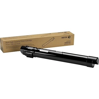 Xerox 106R01439 Black Toner Cartridge, High Yield