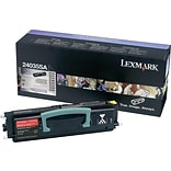 Lexmark 24036SE Black Toner Cartridge, Standard