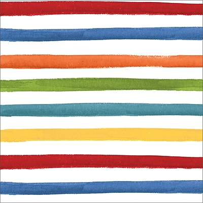 Creative Converting Dots and Stripes Napkins, 48 Count (DTC668514NAP)