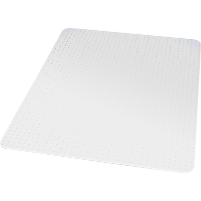 Quill Brand® Carpet Chair Mat, 45 x 53, Crystal Clear (27014-US/CC)