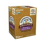Newmans Own French Roast Coffee, Keurig K-Cup Pods, Dark Roast, 24/Box (35339)