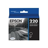 Epson 220 Black Ink Cartridge, Standard (T220120-S)
