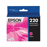 Epson 220 Magenta Ink Cartridge, Standard (T220320-S)