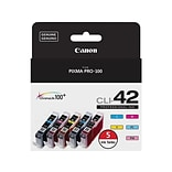 Canon CLI 42 Value Color Combination Ink Cartridge, Standard, 5/Pack (6385B010)