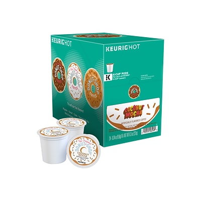 Donut Shop® Coconut Mocha Coffee, Keurig® K-Cup® Pods, Light Roast, 24/Box (6248)