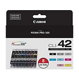 Canon CLI 42 Value Color Combination Ink Cartridges, 8/Pack (6384B007)