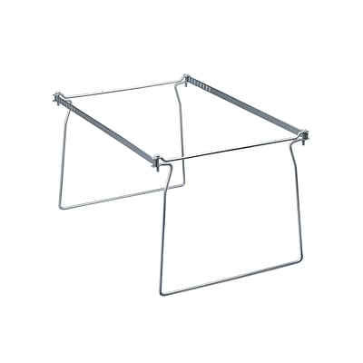 Smead Hanging File Folder Frames, Letter Size, Gray, 2/Pack (64870)