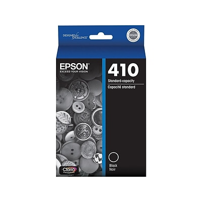Epson 410 Black Ink Cartridge, Standard (T410020-S)