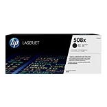 HP 508X Black Toner Cartridge, High Yield (CF360X)