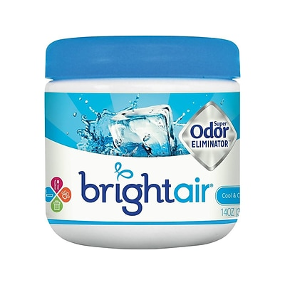 Bright Air Super Odor Eliminator Solid Air Freshener, Cool & Clean (900090)