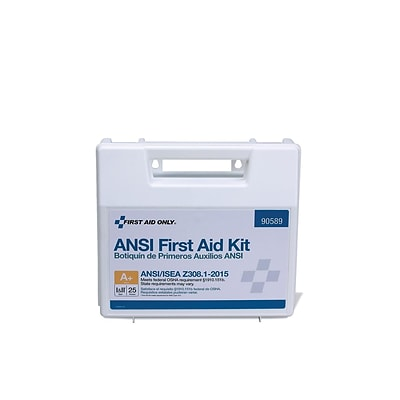 First Aid Only 141 pc. First Aid Kit for 25 People (90589)