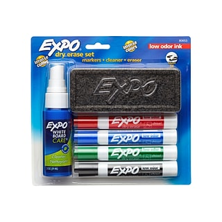 EXPO Starter Set Kit, Assorted Colors (80653)