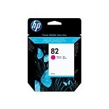 HP 82 Magenta Ink Cartridge, Standard (C4912A)