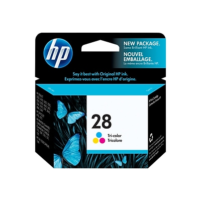 HP 28 Color Combination Ink Cartridge, Standard (C8728AN#140)