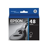 Epson 48 Black Ink Cartridge, Standard (T048120)