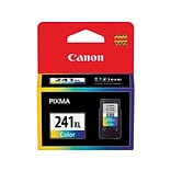 Canon CL-241XL Color Ink Cartridge, High Yield (5208B001)