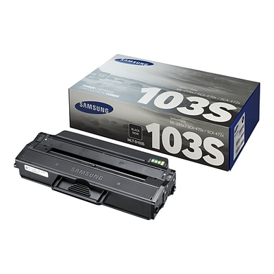 Samsung 103 Black Toner Cartridge, Standard (SU732A)