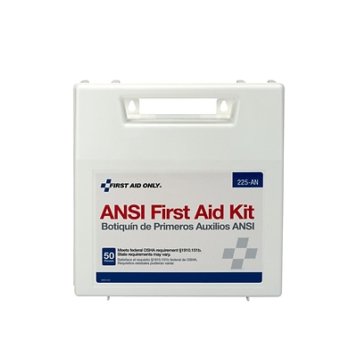 First Aid Only 196 pc. First Aid Kit for 50 People (225-AN)