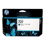 HP 727 Black Matte Ink Cartridge, Standard (B3P22A)