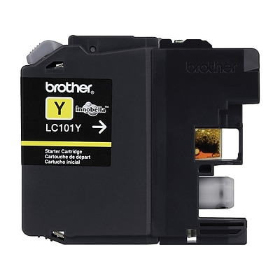 Brother LC101Y Yellow Standard Yield Ink Cartridge