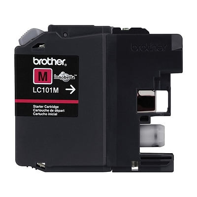 Brother LC 101M Magenta Ink Cartridge, Standard