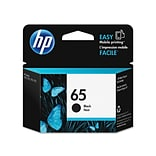 HP 65 Black Ink Cartridge, Standard (N9K02AN#140)