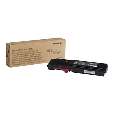 Xerox 106R02745 Magenta Toner Cartridge, High Yield