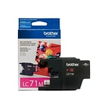 Brother LC 71 Magenta Ink Cartridge, Standard (LC71MS)