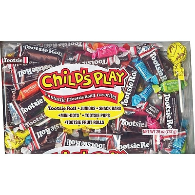 Tootsie Roll Childs Play Assorted Bulk Pack, 26 Oz. (TOO1817)