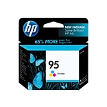 HP 95 Tri-Color Ink Cartridge, Standard Yield (C8766WN)